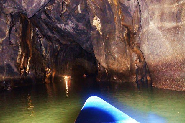 Inside Underground River